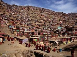 hillside city