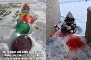 ice art project fail