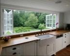 large open windows