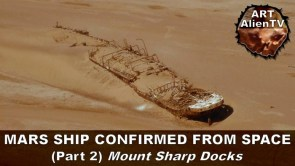 mars ship confirmed from space