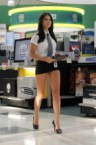 olivia munn in an impossibly short skirt