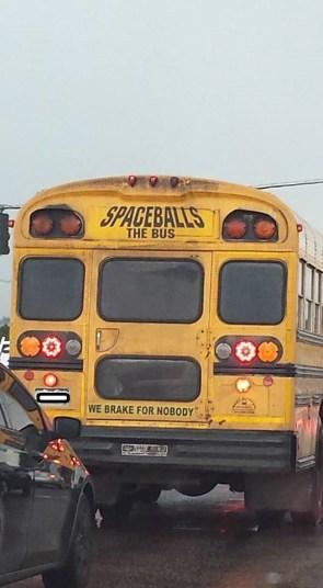 spaceballs the bus