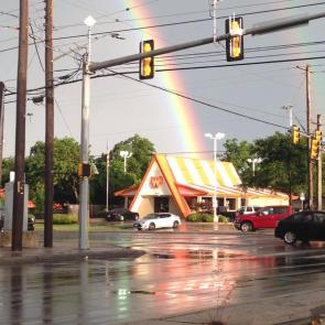whataburger is at the end of the rainbow