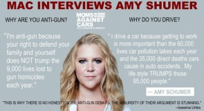 Amy Shumer is anti-gun