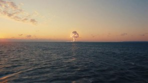 Atomic Explosion at Sea