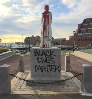 Black Live Matter desecrated a national monument