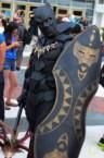 Black Panther Cosplayer