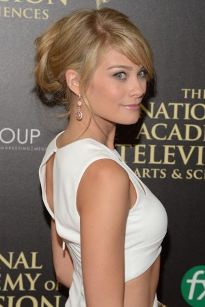 Blonde at the Day Time Emmys