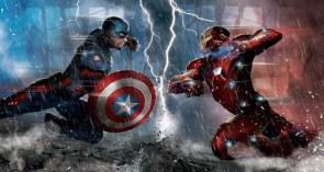 Captain America Vs Iron Man
