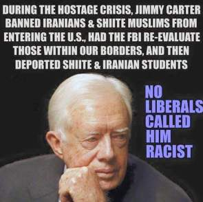 Carter did what Trumps Wants to do