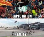 Civial War Expectation vs Reality