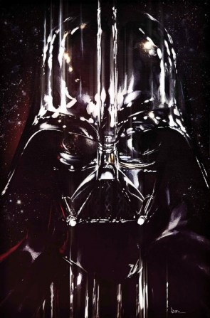 Darth Vader is angry