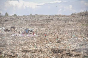 Garbage dump in Nairobi