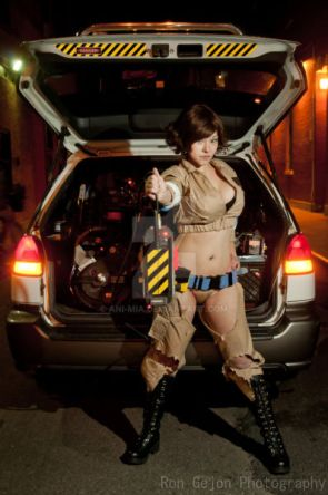 Ghost Buster Cosplay