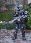 Halo Cosplayer