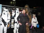 Star Wars , Star Trek when the Wookie Roars
