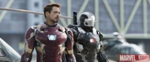 Iron Man and War Machine Stand Together