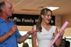 Jennifer Lawrence loves her pink bat