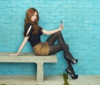 Karen Gillian about to take a selfie