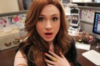 Karen Gillian is shocked that her selfie was canceled