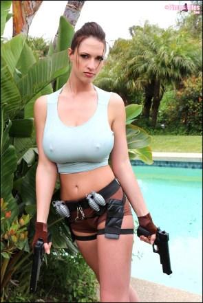 Lana Kendrick Tomb Raider Cosplay