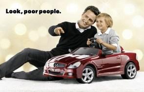 Look, poor people