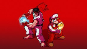 Mario and Ryu – fire power