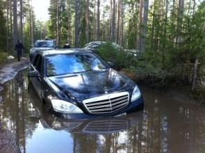 Mercedes Off Roading