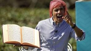 Obama preaches