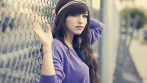 Purple Top and Fencing