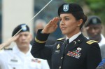 Rep. Gabbard at her promotion to Major