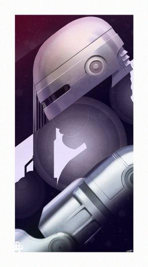 Robocop Vertical Wallpaper