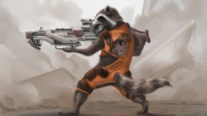 Rocket with Rifle