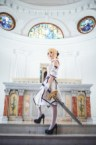 Saber at the alter