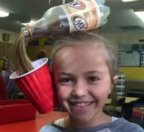 Soda Bottle hair style