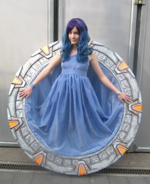 Stargate Cosplayer