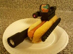 Tacticle Hotdog