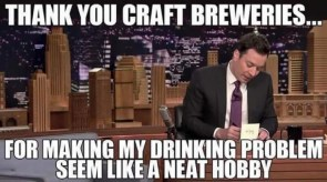 Thank you craft Breweries