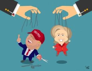 Trump cut the strings