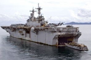 USS Essex in Thailand