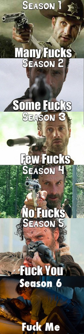 Walking Dead Fucks
