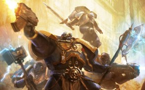blue warhammer space marines