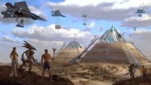 egyptian builders