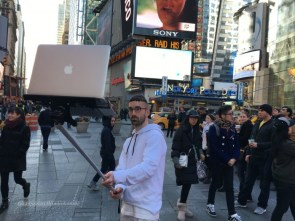 laptop selfie stick