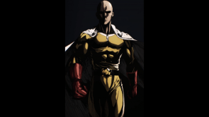one punch man looking meaty