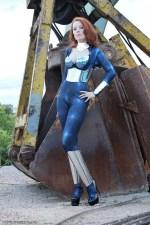 shiney woman by construction equipment.jpeg