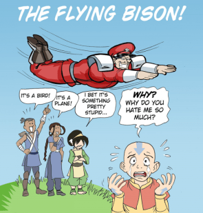 the flying bison