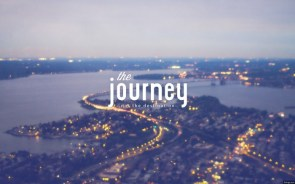 the journey – not the destination