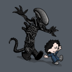 ripley and the alien