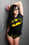 Batman T-Shirt on sexy fuckbot